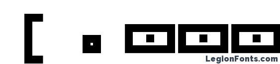 [.squarepusherv3.5.] Font