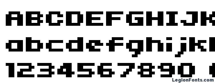 глифы шрифта 04b11, символы шрифта 04b11, символьная карта шрифта 04b11, предварительный просмотр шрифта 04b11, алфавит шрифта 04b11, шрифт 04b11