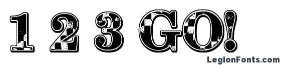 1 2 3 GO! Font, 3D Fonts