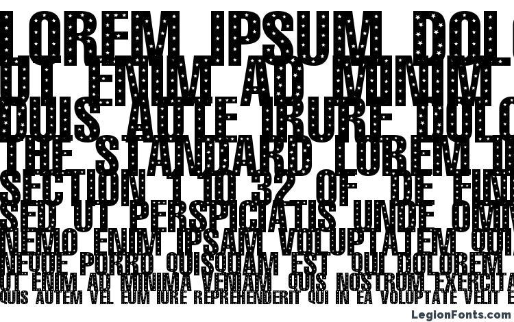 specimens 101! StaR StuDDeD font, sample 101! StaR StuDDeD font, an example of writing 101! StaR StuDDeD font, review 101! StaR StuDDeD font, preview 101! StaR StuDDeD font, 101! StaR StuDDeD font