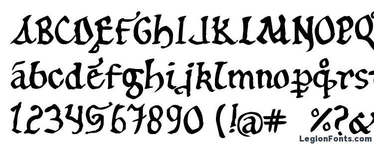 glyphs 12th c. abbey font, сharacters 12th c. abbey font, symbols 12th c. abbey font, character map 12th c. abbey font, preview 12th c. abbey font, abc 12th c. abbey font, 12th c. abbey font