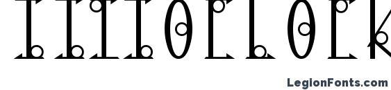 13oclock Font