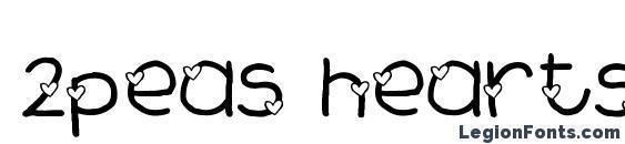 2peas hearts delight Font