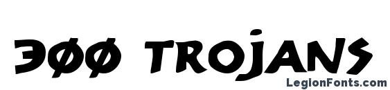 300 Trojans Expanded Font