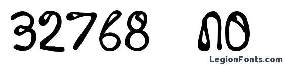 32768 no Font, African Fonts