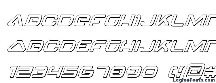 глифы шрифта 4114 Blaster 3D Italic, символы шрифта 4114 Blaster 3D Italic, символьная карта шрифта 4114 Blaster 3D Italic, предварительный просмотр шрифта 4114 Blaster 3D Italic, алфавит шрифта 4114 Blaster 3D Italic, шрифт 4114 Blaster 3D Italic