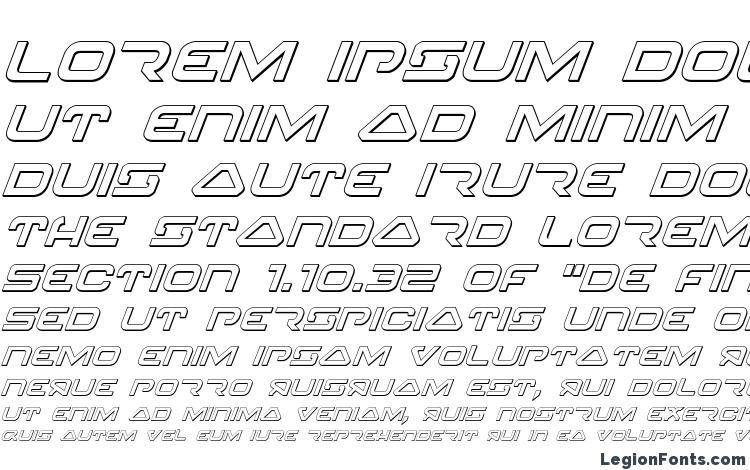specimens 4114 Blaster 3D Italic font, sample 4114 Blaster 3D Italic font, an example of writing 4114 Blaster 3D Italic font, review 4114 Blaster 3D Italic font, preview 4114 Blaster 3D Italic font, 4114 Blaster 3D Italic font