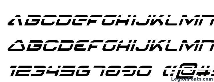 глифы шрифта 4114 Blaster Laser Italic, символы шрифта 4114 Blaster Laser Italic, символьная карта шрифта 4114 Blaster Laser Italic, предварительный просмотр шрифта 4114 Blaster Laser Italic, алфавит шрифта 4114 Blaster Laser Italic, шрифт 4114 Blaster Laser Italic