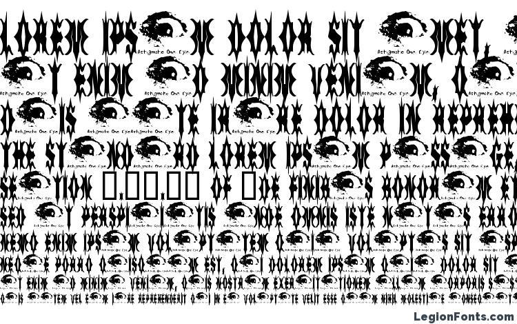 specimens 5 Fingered Goth SWTrial font, sample 5 Fingered Goth SWTrial font, an example of writing 5 Fingered Goth SWTrial font, review 5 Fingered Goth SWTrial font, preview 5 Fingered Goth SWTrial font, 5 Fingered Goth SWTrial font