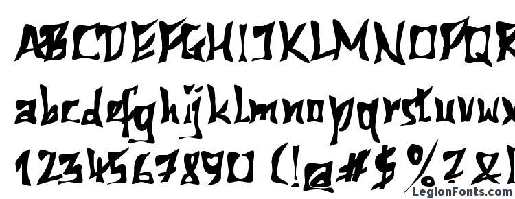 глифы шрифта 612Koshey Bold, символы шрифта 612Koshey Bold, символьная карта шрифта 612Koshey Bold, предварительный просмотр шрифта 612Koshey Bold, алфавит шрифта 612Koshey Bold, шрифт 612Koshey Bold