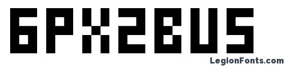 6px2bus Font