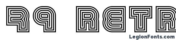 79 retro Font