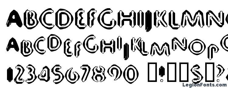 glyphs 80db font, сharacters 80db font, symbols 80db font, character map 80db font, preview 80db font, abc 80db font, 80db font