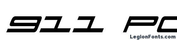 911 Porscha Italic font, free 911 Porscha Italic font, preview 911 Porscha Italic font