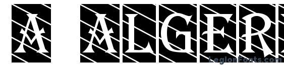 шрифт a AlgeriusCmDgStr, бесплатный шрифт a AlgeriusCmDgStr, предварительный просмотр шрифта a AlgeriusCmDgStr