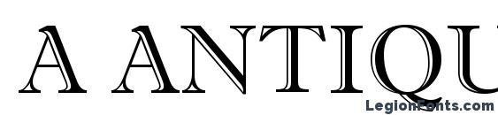 a AntiqueTitulGr Font