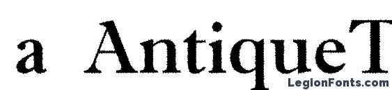 a AntiqueTradyRgh font, free a AntiqueTradyRgh font, preview a AntiqueTradyRgh font