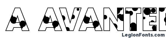 шрифт a AvanteDrp, бесплатный шрифт a AvanteDrp, предварительный просмотр шрифта a AvanteDrp