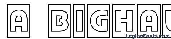 a BighausTitulCmOtl Font