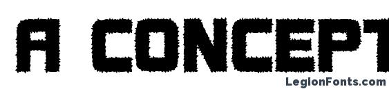 a ConceptoTitulRough Font, Russian Fonts