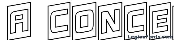 a ConceptoTtlCmOtlUpNr font, free a ConceptoTtlCmOtlUpNr font, preview a ConceptoTtlCmOtlUpNr font
