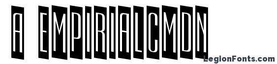 a EmpirialCmDn Font