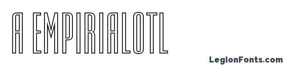 a EmpirialOtl font, free a EmpirialOtl font, preview a EmpirialOtl font