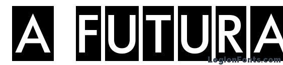 Шрифт a FuturaOrtoTitulCm