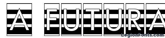 Шрифт a FuturaOrtoTitulCmGrd