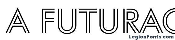 a FuturaOrtoTitulInln Font