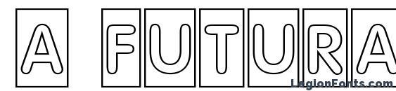 a FuturaRoundTtlCmOtl Font