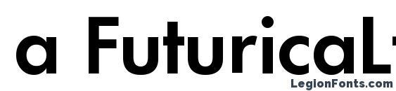 Шрифт a FuturicaLt SemiBold