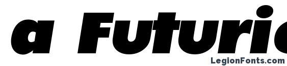 Шрифт a FuturicaNord Italic