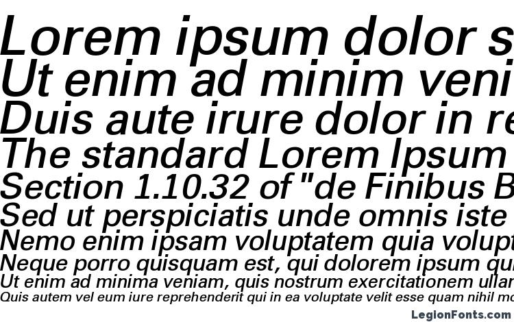 specimens a GroticLt BoldItalic font, sample a GroticLt BoldItalic font, an example of writing a GroticLt BoldItalic font, review a GroticLt BoldItalic font, preview a GroticLt BoldItalic font, a GroticLt BoldItalic font