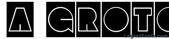 a GrotoCmGr font, free a GrotoCmGr font, preview a GrotoCmGr font