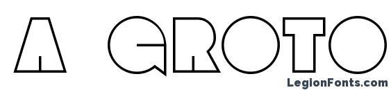 Шрифт a GrotoOtl