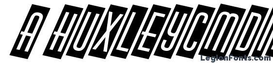 Шрифт a HuxleyCmDino Bold