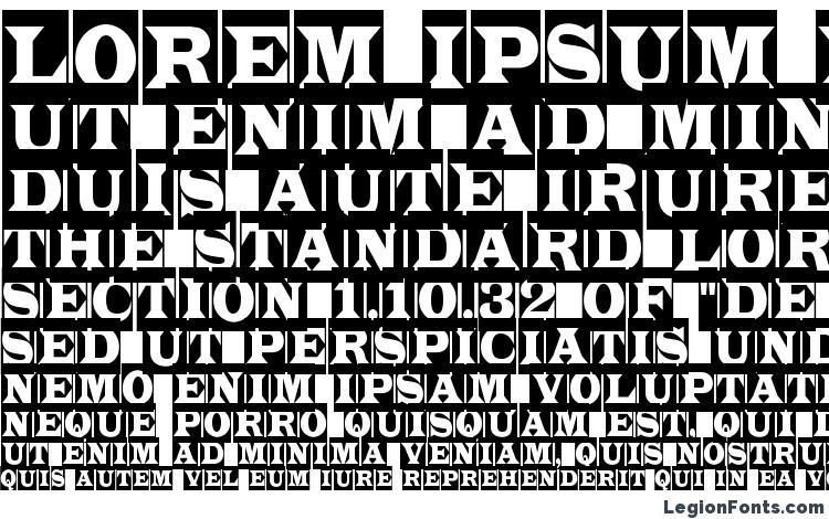 specimens a LatinoTitulCm font, sample a LatinoTitulCm font, an example of writing a LatinoTitulCm font, review a LatinoTitulCm font, preview a LatinoTitulCm font, a LatinoTitulCm font