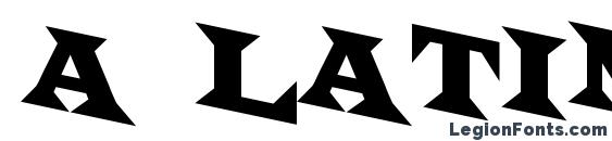 a LatinoTitulSpDn font, free a LatinoTitulSpDn font, preview a LatinoTitulSpDn font