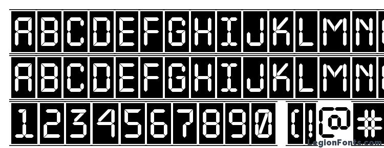 glyphs a LCDNovaCmFr font, сharacters a LCDNovaCmFr font, symbols a LCDNovaCmFr font, character map a LCDNovaCmFr font, preview a LCDNovaCmFr font, abc a LCDNovaCmFr font, a LCDNovaCmFr font