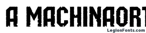 Шрифт a MachinaOrtoRg&Bt