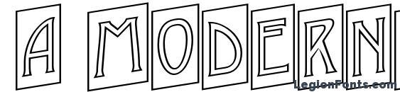 a ModernoCmOtlUp Font