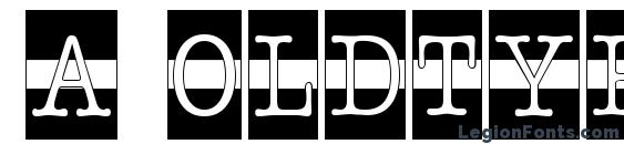 Шрифт a OldTyperCmDcWStr