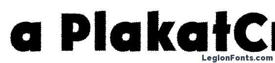 Шрифт a PlakatCmplRg ExtraBold, Африканские шрифты