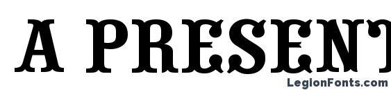 Шрифт a presentum скачать бесплатно / legionfonts.