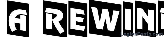 a RewinderTitulCmDn Font