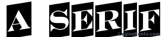 шрифт a SeriferTitulCmUp, бесплатный шрифт a SeriferTitulCmUp, предварительный просмотр шрифта a SeriferTitulCmUp