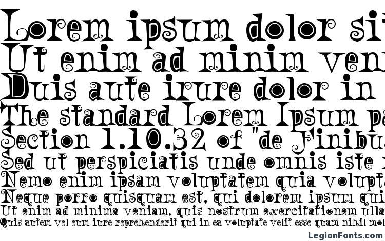 specimens A weird party font, sample A weird party font, an example of writing A weird party font, review A weird party font, preview A weird party font, A weird party font