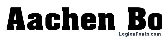 Download Aachen Bold - Bold - download-free-fonts.com