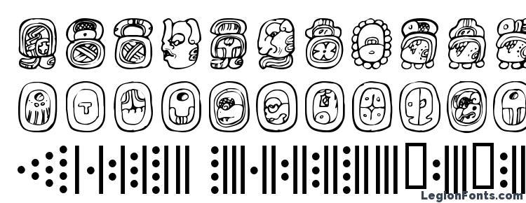 глифы шрифта Abaj, символы шрифта Abaj, символьная карта шрифта Abaj, предварительный просмотр шрифта Abaj, алфавит шрифта Abaj, шрифт Abaj